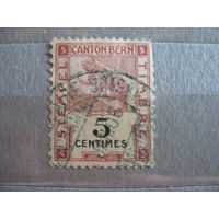 Редкость. Кантон Берн, Швейцария, локальный выпуск. 1900 г. Медведь.