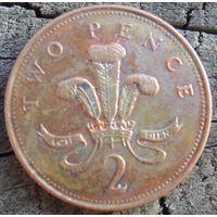 2 пенса 1996 Великобритания