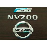 Nissan NV200 эмблемы логотип значок