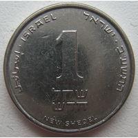 Израиль 1 шекель 2012 г.