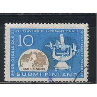 Финляндия 1960 Генеральная Ассамблея Международногосоюза геодезии и геофизики #522
