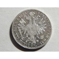 Австро-Венгрия 1 флорин 1878г