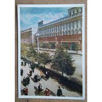Минск. Жилой дом для рабочих автозавода на проспекте Сталина. 1954 г. Чистая