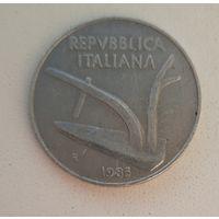 Италия 10 лир 1985_единственный год на АУ