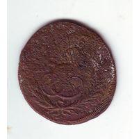 1 копейка . Перечекан с 2-х копеек 1762 года ( барабаны). С 1 рубля !