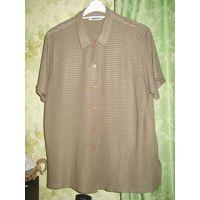 Блузка коричневая р.48-50