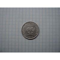 Сан-Томе и Принсипи 5 эскудо 1939, серебро;