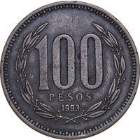 Чили 100 песо 1993