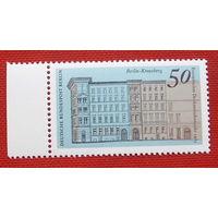 Германия. Западный Берлин. Архитектура. ( 1 марка ) 1975 года.