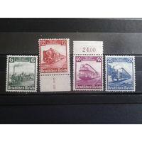 Рейх 1935 Паровозы полная серия Михель-130,0 евро