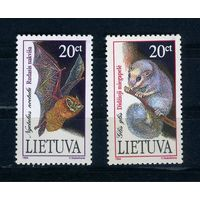 Литва, 1994г. летучая мышь, 2м.