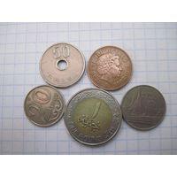 Пять монет/003 с рубля!