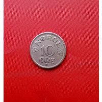 94-18 Норвегия, 10 эре 1956 г.