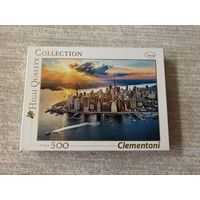 Пазл Clementoni 500 элементов Манхэттен