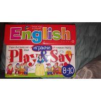 Сундучок с играми. Учим английский язык.
