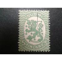 Финляндия 1917 стандарт, герб