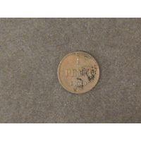 1 пенни (pennia) 1900 года