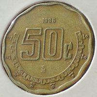 Мексика, 50 сентаво 1996 года