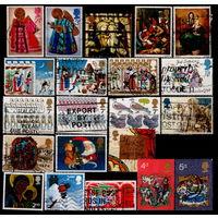 Сборный лот марок Великобритании 1