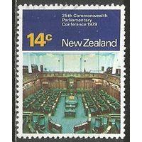 Новая Зеландия. 25 лет Парламентской конференции Содружества. 1979г. Mi#782.