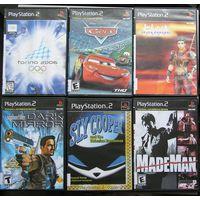 Игры ( 6 шт. ) для  Sony PlayStation 2