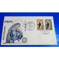 Конверт, Европа-септ, Испания, распродажа