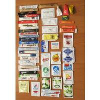 Глюкофилия. Сахар 54 пакетов из разных стран