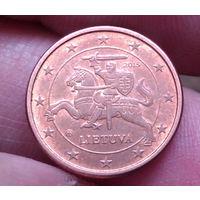 1  евро цент 2015 Литва