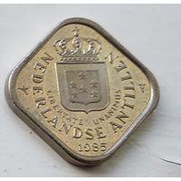 Нидерландские Антильские острова 5 центов, 1985 1-2-9