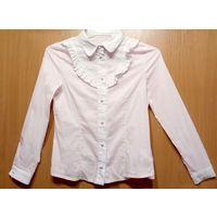 Р.146 Бело-розовая школьная блузка Enfant Sage