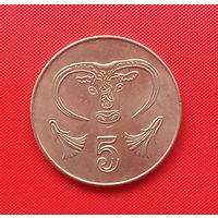 54-34 Кипр, 5 центов 2004 г.