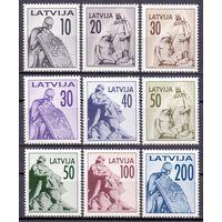 Латвия 1992 326-34 5,5e памятник MNH