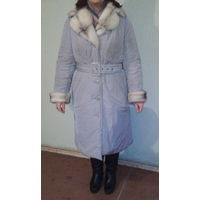Пальто-пуховик зима р-р 54-56, фирменный, Россия