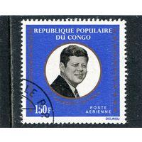 Конго. Президент США Д,Кеннеди