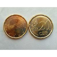 20 евроцентов Сан-Марино 2017