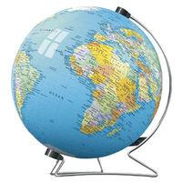 """Паззл-шар """" Глобус со стойкой """"540 эл.Равенсбургер(Германия)с нанесенной картой Земного шара"""