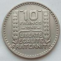 10 франков 1948 ФРАНЦИЯ