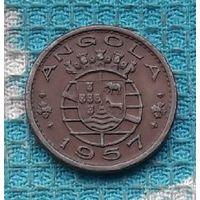 Португальская колония Ангола 50 сентаво 1957 года, AU