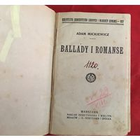 Adam Mickiewicz Ballady i Romanse