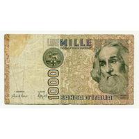 1000 лир 1982 года, QE 060956 F, Италия