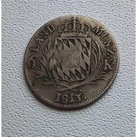 Бавария 6 крейцеров, 1813 7-7-30