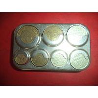 Монетница с монетками СССР