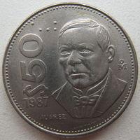 Мексика 50 песо 1987 г. (u)