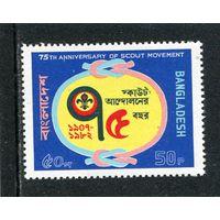 Бангладеш. Эмблема скаутского движения