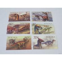 Марки Польши Динозавры (No 3811-3816)