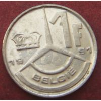 5811:  1 франк 1991 Бельгия KM# 171