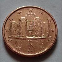 1 евроцент, Италия 2009 г.