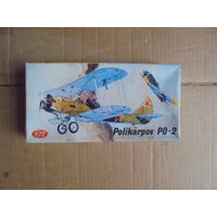 Модель самолета KP Polikarpov PO-2 1/72