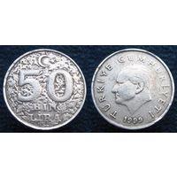 W: Турция 50000 лир 1999, бин (420)