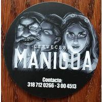 "Подставка под пиво пивоварни ""Manigua"" /Колумбия/ No 2"